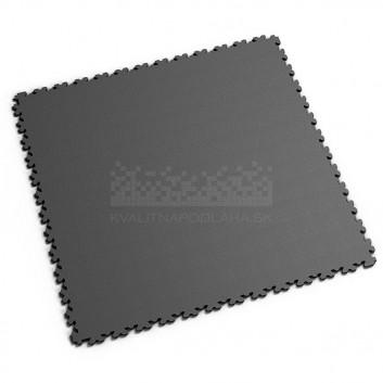 Ultra tenká (4 mm) veľkoformátová tmavo sivá PVC dlaždica Fortelock