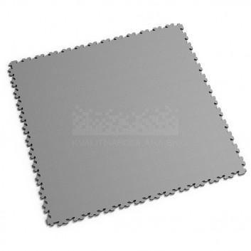 Ultra tenká (4 mm) veľkoformátová sivá PVC dlaždica Fortelock
