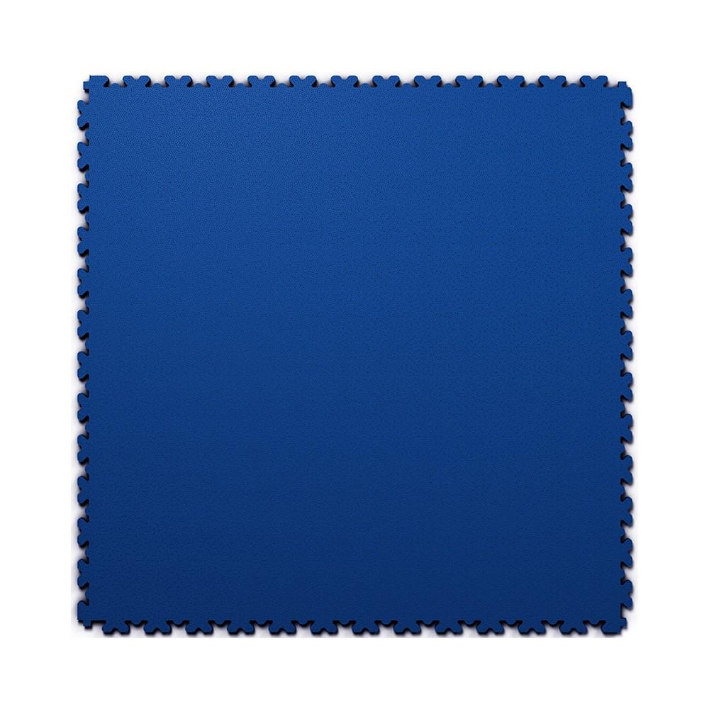 Ultra tenká (4 mm) veľkoformátová modrá PVC dlaždica Fortelock