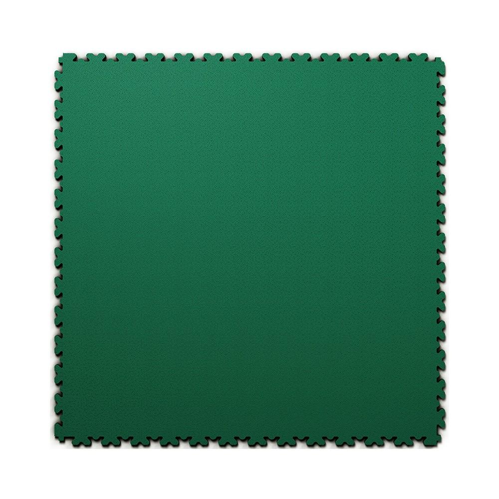 Ultra tenká (4 mm) veľkoformátová zelená PVC dlaždica Fortelock