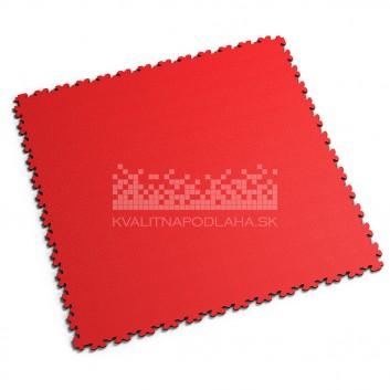 Ultra tenká (4 mm) veľkoformátová červená PVC dlaždica Fortelock