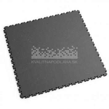 Ultra tenká (4 mm) veľkoformátová recyklovaná sivá PVC dlaždica Fortelock XL