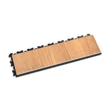 Nájazdová rampa k podlahe Fortelock Home s imitáciou drevenej podlahy