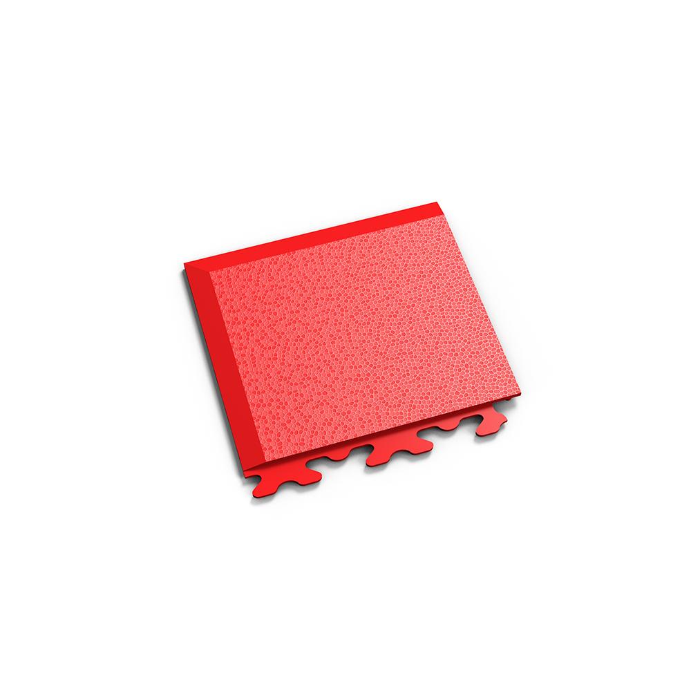 Červený nájazdový roh k podlahám Fortelock Invisible.