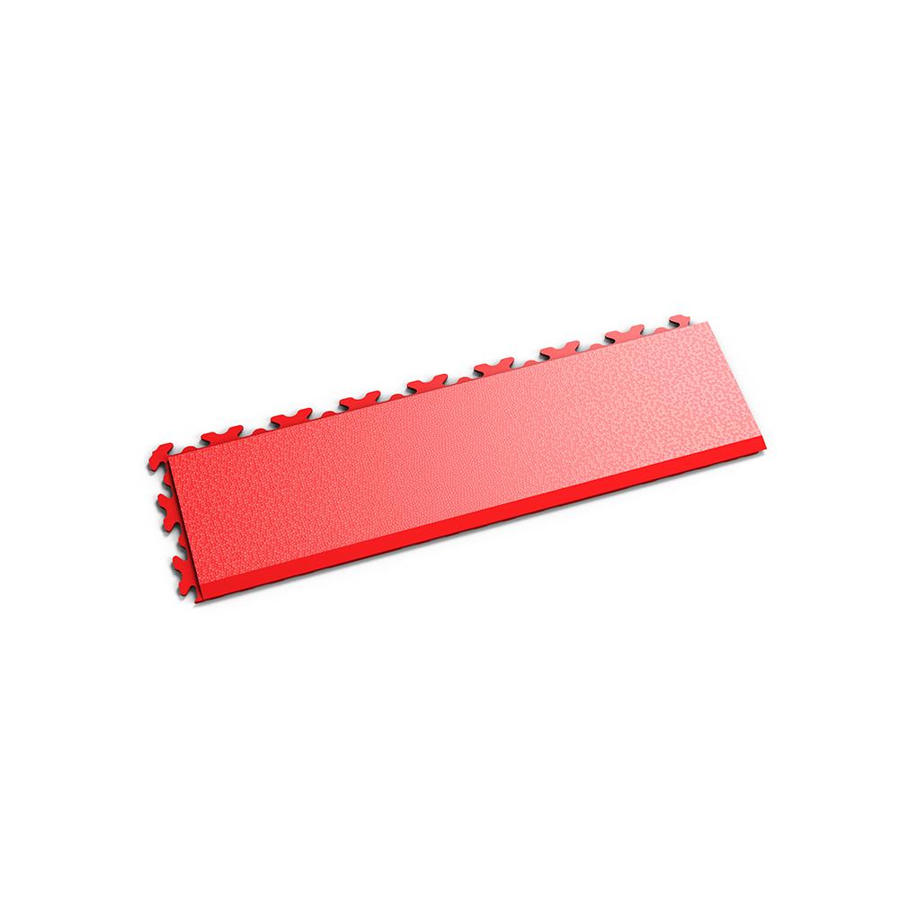 Červená nájazdová rampa k podlahám Fortelock Invisible.