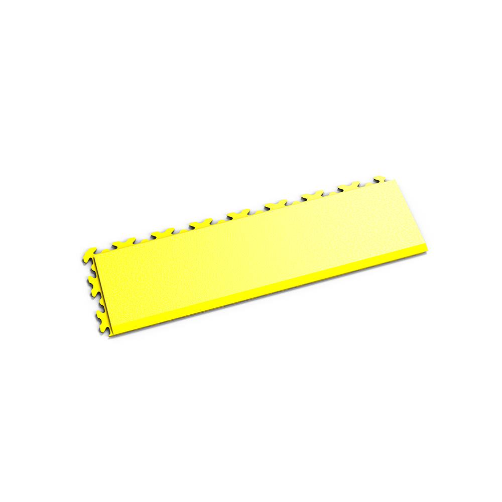 Žltá nájazdová rampa k podlahám Fortelock Invisible.