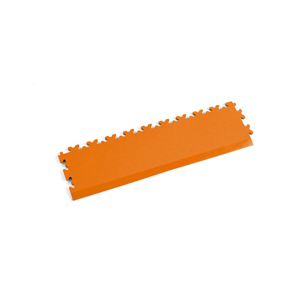 Oranžová nájazdová rampa k podlahám Fortelock Industry a Light.