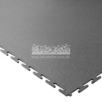 Kvalitná a odolná tmavo sivá podlaha Ecotile E500 (5 mm)