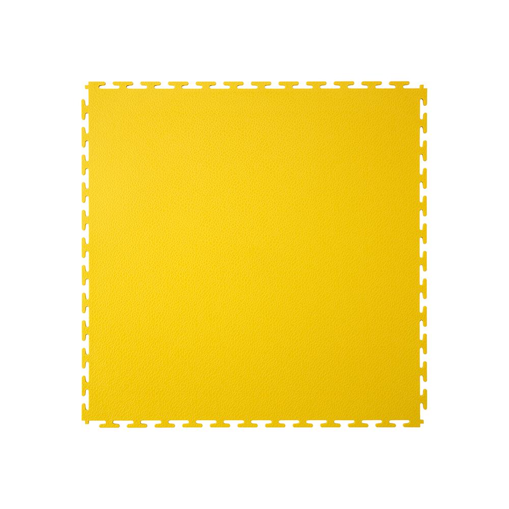 Kvalitná a odolná žltá podlaha Ecotile E500 (5 mm)
