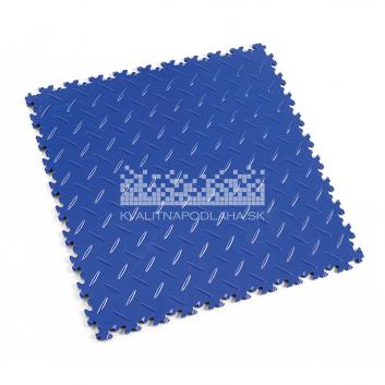 Kvalitná a odolná modrá podlaha Fortelock Industry (7 mm)