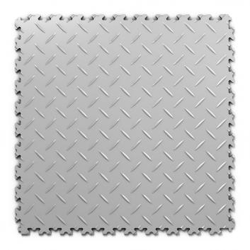 Kvalitná a odolná sivá podlaha Fortelock Industry (7 mm)