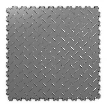 Kvalitná a odolná tmavo sivá podlaha Fortelock Industry (7 mm)
