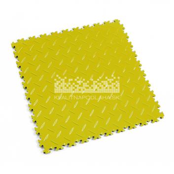 Kvalitná a odolná žltá podlaha Fortelock Industry (7 mm)