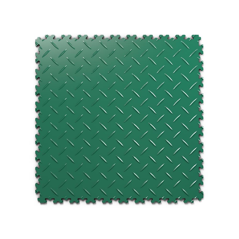 Kvalitná a odolná zelená podlaha Fortelock Industry (7 mm)
