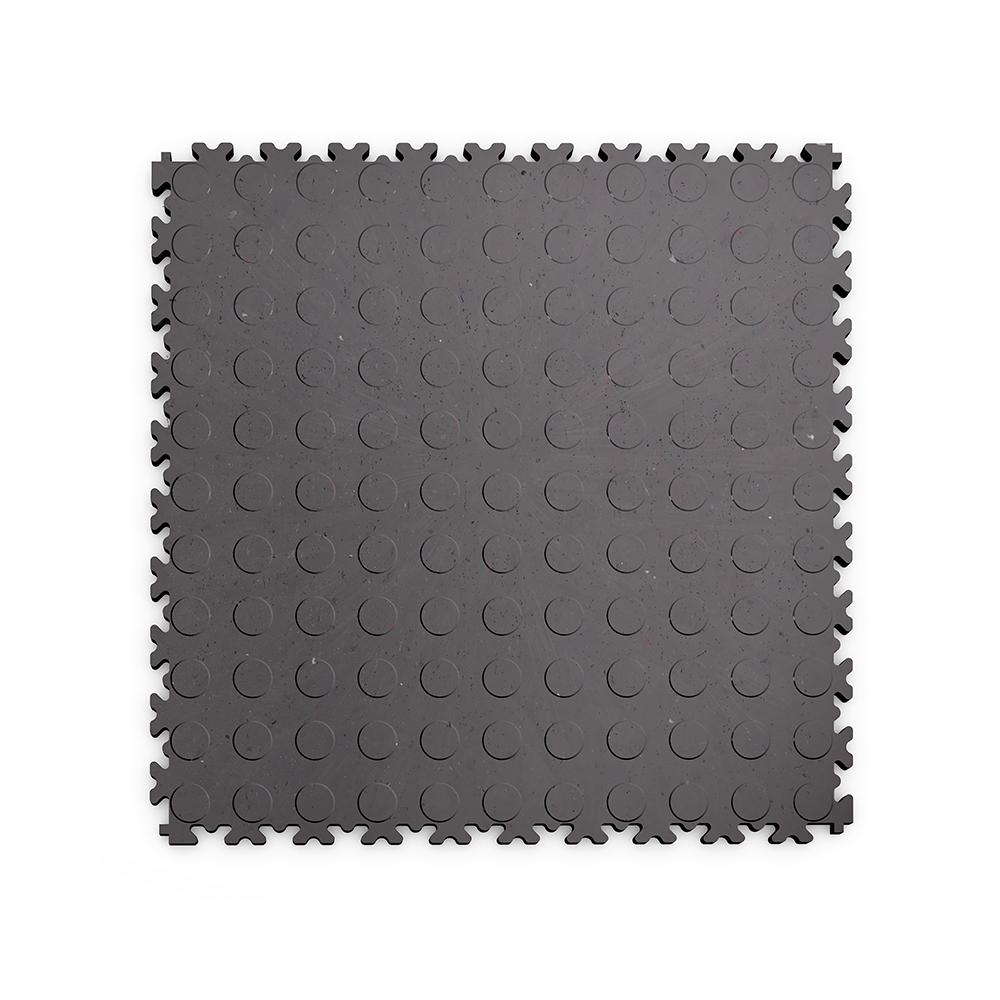Kvalitná a odolná sivá recyklovaná podlaha Fortelock ECO (7 mm)