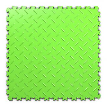 Kvalitná a odolná svetlo zelená podlaha Fortelock Industry (7 mm)