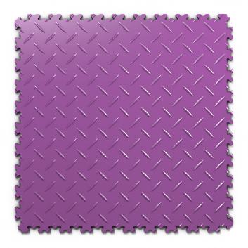 Kvalitná a odolná fialová podlaha Fortelock Industry(7 mm)