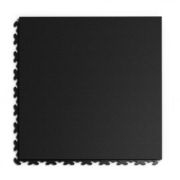 Kvalitná a odolná čierna podlaha Fortelock Invisible