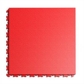 Kvalitná a odolná červená podlaha Fortelock Invisible