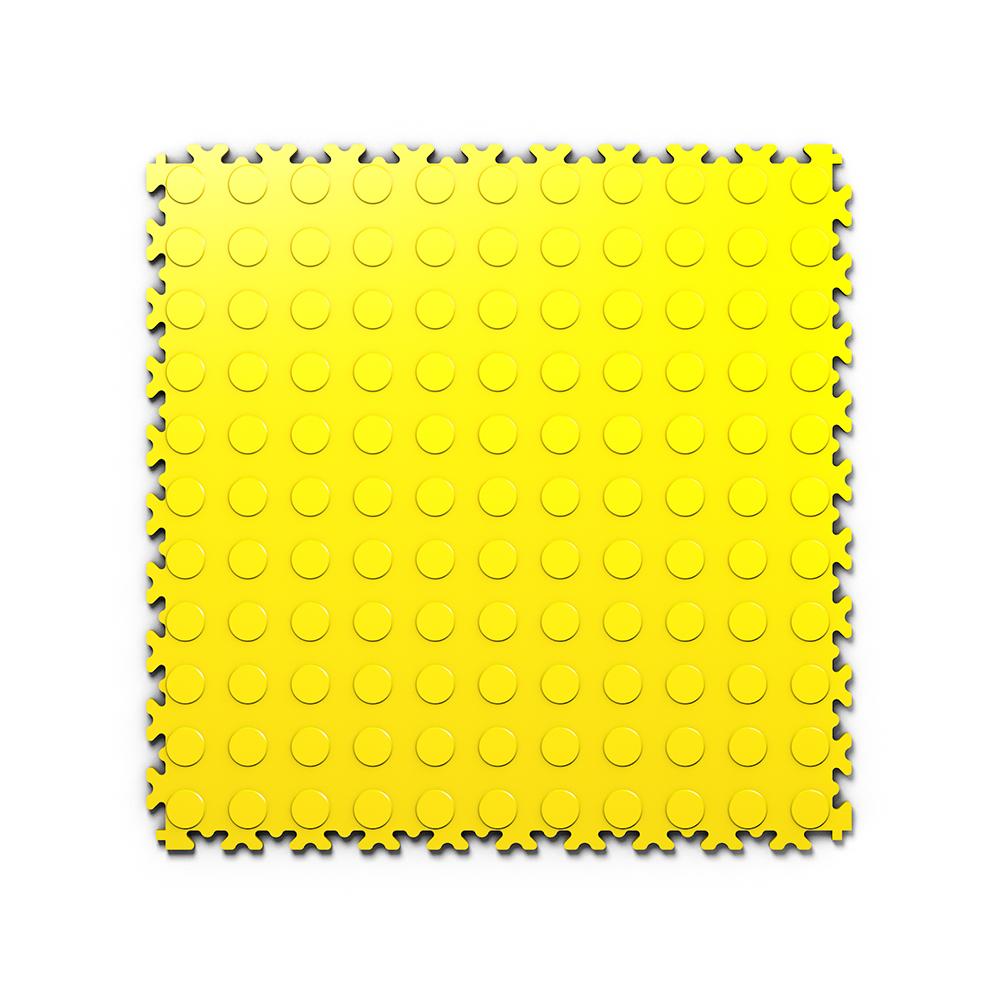Kvalitná a odolná žltá podlaha Fortelock Light