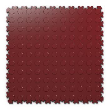 Kvalitná a odolná tmavo červená podlaha Fortelock Light