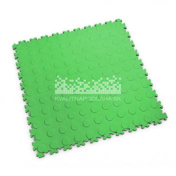 Kvalitná a odolná svetlo zelená podlaha Fortelock Light