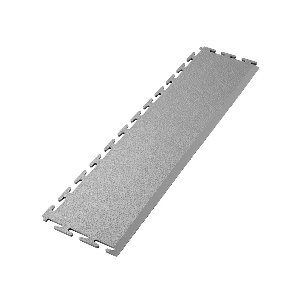 Sivá nájazdová rampa k PVC podlahám Ecotile E500/5