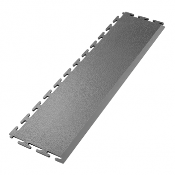 Tmavo sivá nájazdová rampa k PVC podlahám Ecotile E500/5