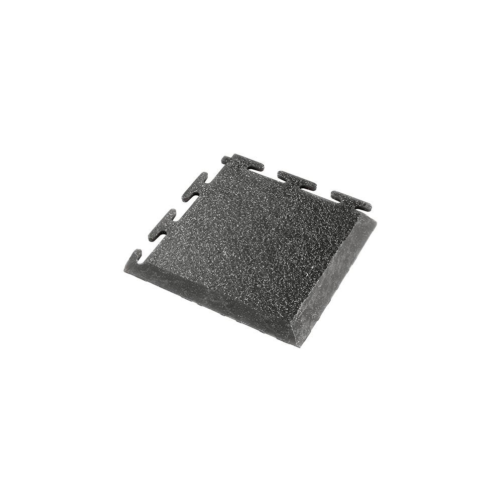 Nájazdový roh (zrnitá) k PVC podlahám Ecotile E500/5