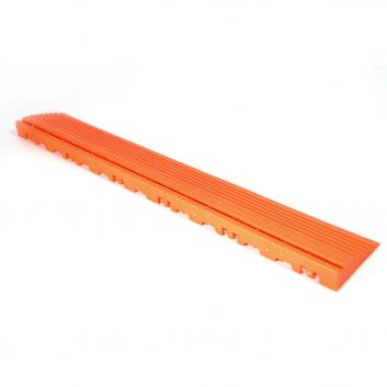 Nájazdová rampa (typ B) k odolným PPC podlahám Swisstrax (oranžová)