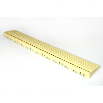 Nájazdová rampa (typ B) k odolným PPC podlahám Swisstrax (slonovinová)