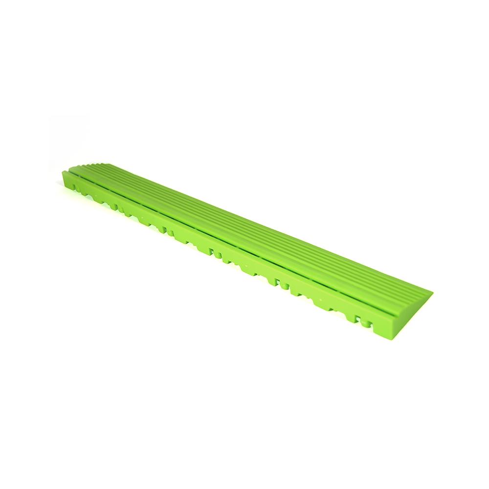 Nájazdová rampa (typ B) k odolným PPC podlahám Swisstrax (svetlo zelená)