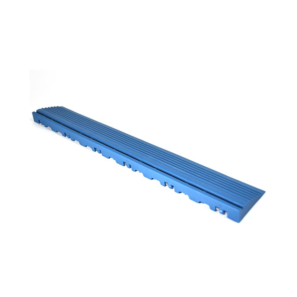 Nájazdová rampa (typ B) k odolným PPC podlahám Swisstrax (svetlo modrá)