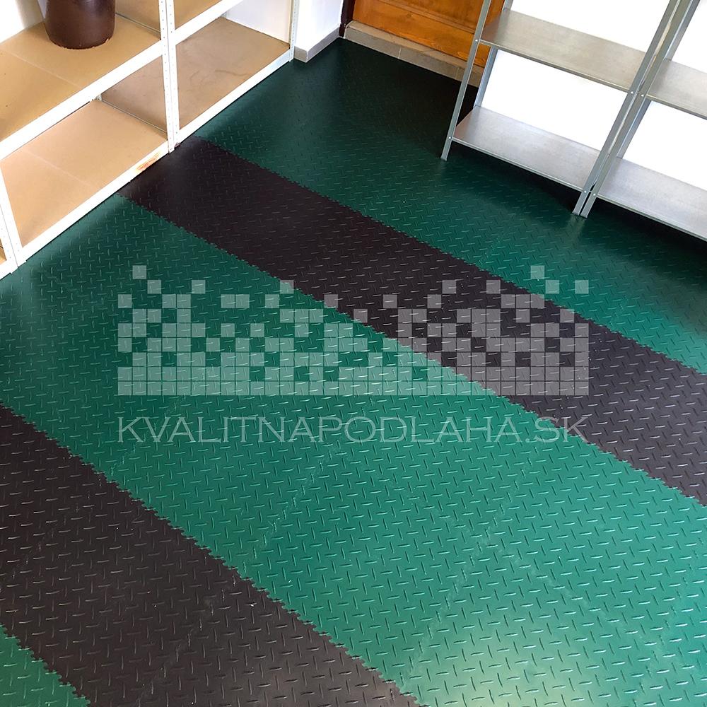 Kvalitná a odolná záťažová PVC podlaha Fortelock do garáže