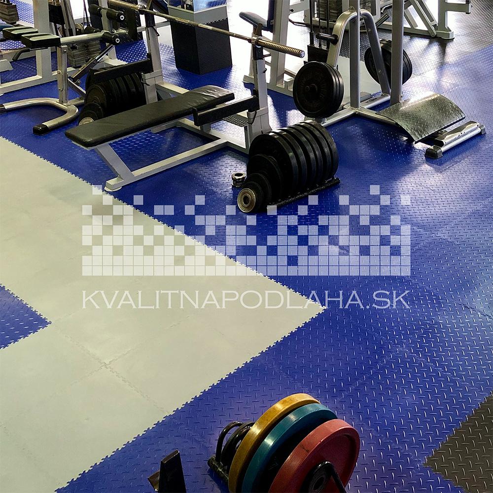 Kvalitná a odolná záťažová PVC podlaha do posilňovne a fitness