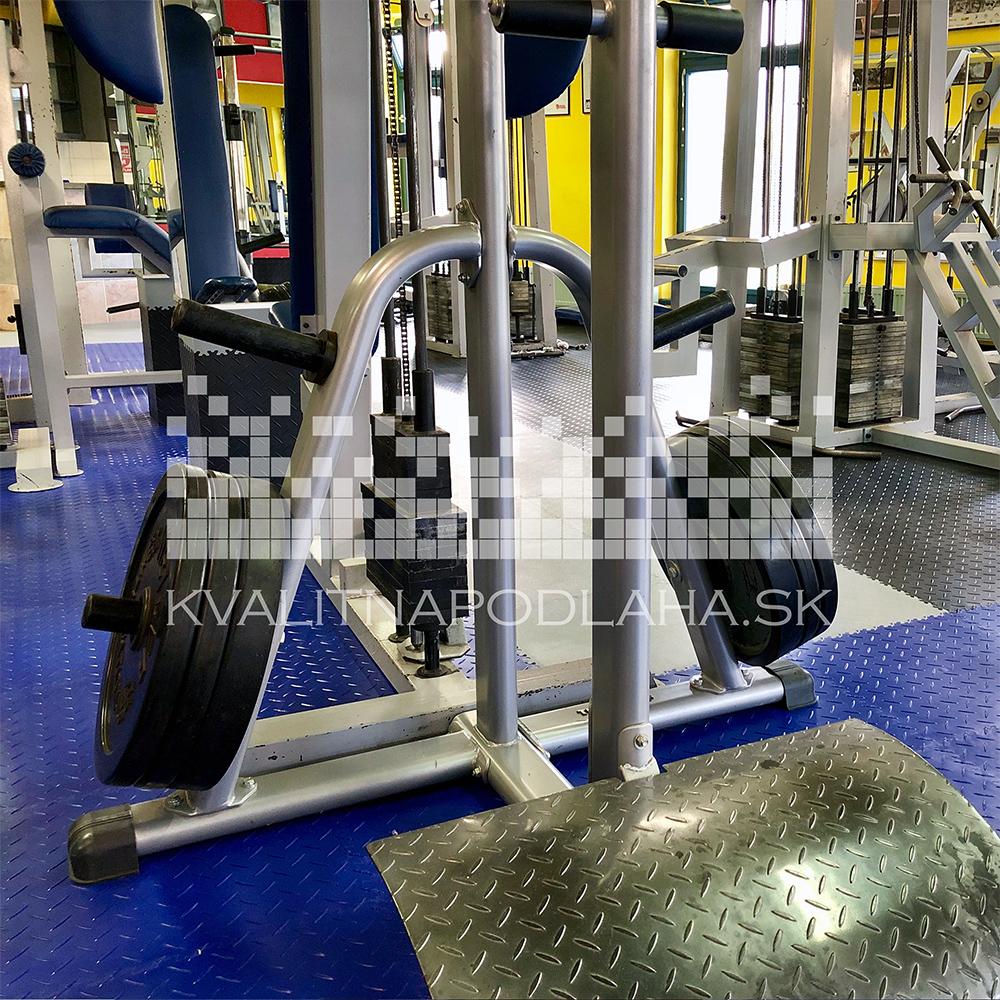 Mimoriadne odolná podlaha Fortelock vo Fitness Centre