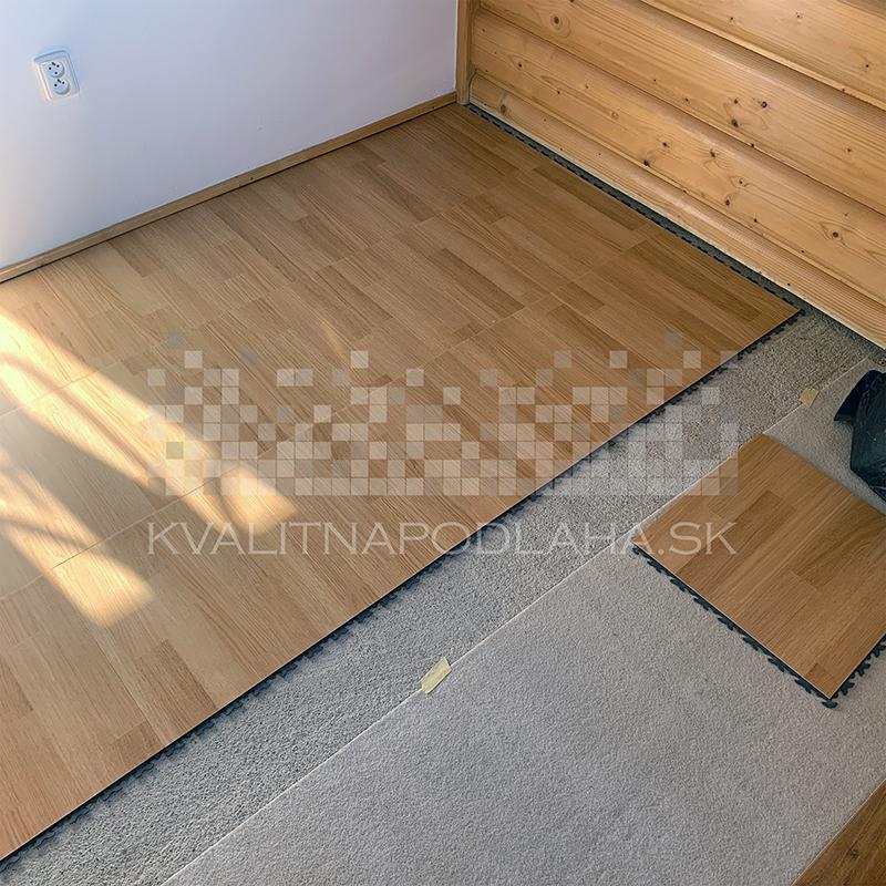 Odolná PVC podlaha do garáže Fortelock
