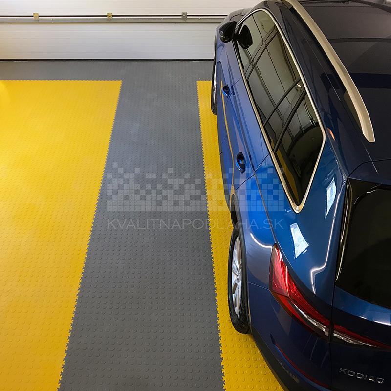 Kvalitná a odolná PVC podlaha do garáže v Košiciach