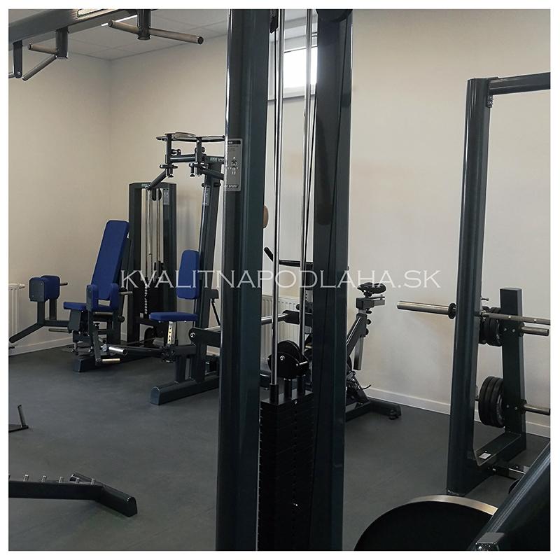 PVC podlaha Fortelock fitness centrum