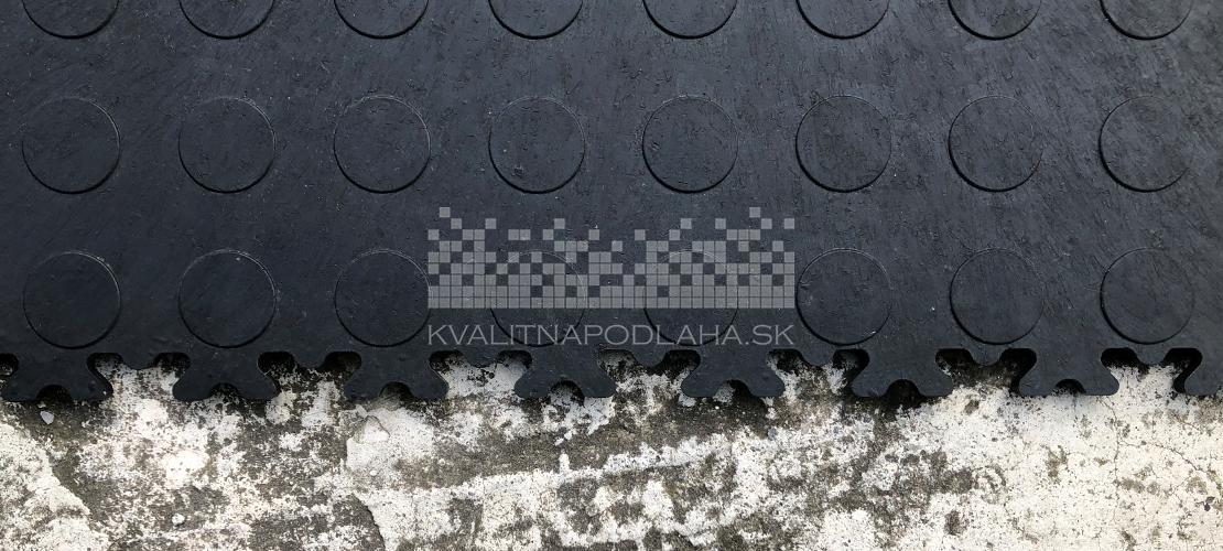 Kvalitná a odolná mobilná záťažová recyklovaná PVC podlaha Fortelock ECO