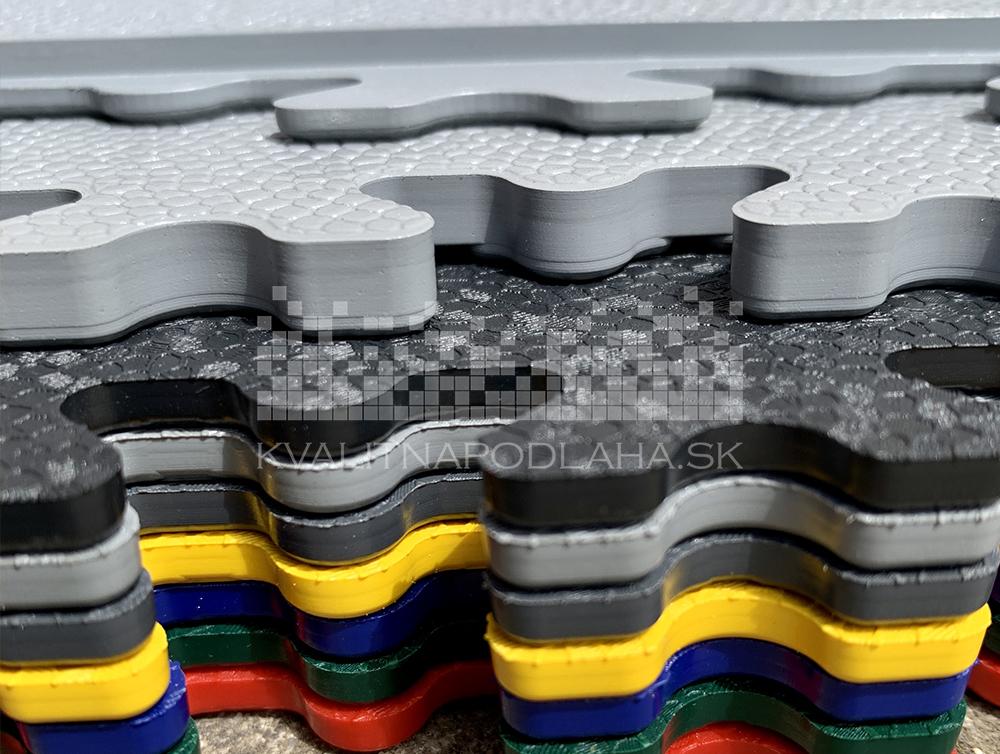 Ultra tenká veľká PVC podlaha Fortelock na takmer akýkoľvek rovný a tvrdý povrch