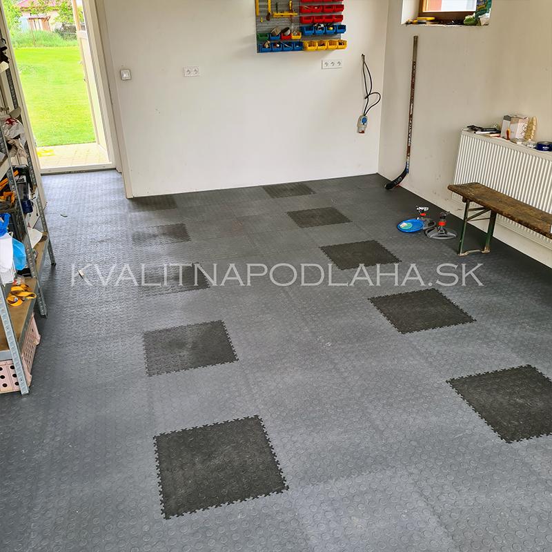Podlaha do garáže v odolnom prevedení Fortelock ECO