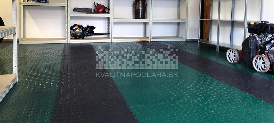 Kvalitná a odolná záťažová PVC a PPC podlaha do garáže