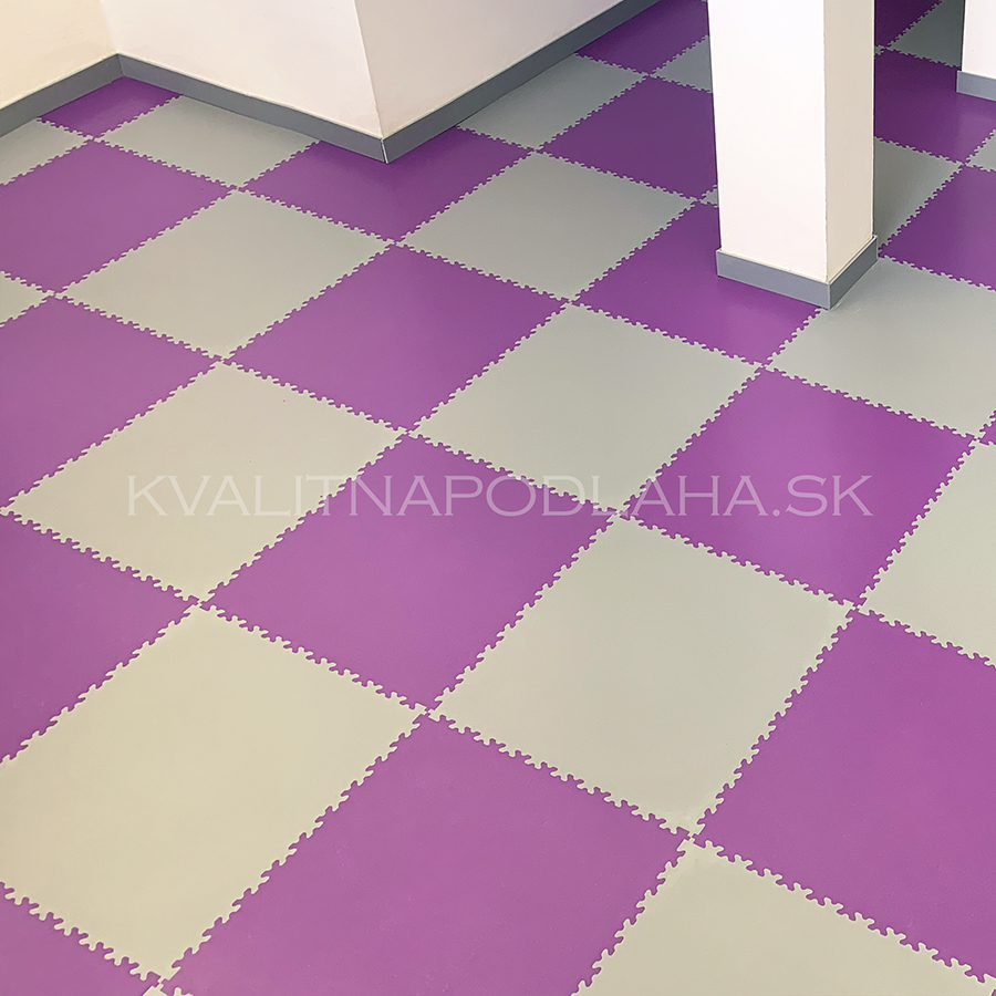 PVC podlaha Fortelock v šatni a zázemí